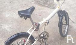 Rush for Sale Bike (folding) Good for service para