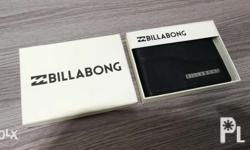 Billabong Leather Wallet Authentic Genuine Leather