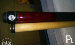 For almost brandnew cue stick. The cue stick is of high