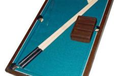 1x Mini Kids Billiard/Pool Table Now 1750 Before 2000 -