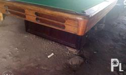 for sale romel billiard table, new ruber new tapete,