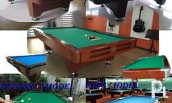 CROWN BILLIARDS Table Business & Family use 4 MODELS