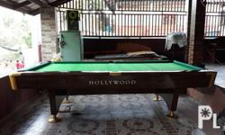 Secondhand Billiard Table For Sale For Sale In Cavite City - Hollywood billiard table for sale