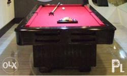 Oneball billiard table and accessories refurbished