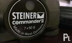 00255281957 I am selling my Steiner 7X 50 50mm