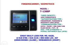 MODEL: T-1388 / T-1388P* TOUCHSCREEN 4.3� Colored LCD