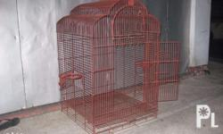 For Sale 1pc Bird Cage (coated with primer already
