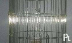 I'm selling brand new bird cages. Height: 28 inches