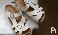 original birkenstock sandals White and size 41 Pre
