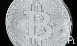 Silver Plated Physical Bitcoin Shipping shouldered by