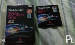 Bitdefender total security. 1full year protection For