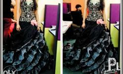 Good condition.. Ball gown for prom,js, pagent. Titled