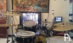Makinis pa and brandnew BCS cymbals set, all gibraltar