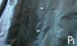 Black leather jacket in mint condition.walang anumang