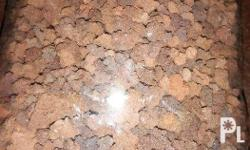 Black sand substrate Lava rock aquarium gravel PER