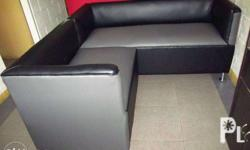 An Affordable Made to Order BlackGrey Office L-Shape