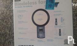 Barely used bladeless fan 40 wattage Received as a