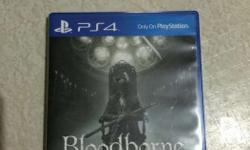 Selling my bloodborne slightly use for only 1200 meet
