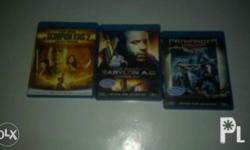 Blu ray dicss movies..350 each pesos only..1080p hd