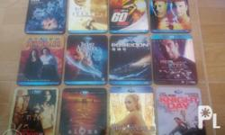 *Assorted Blu-Ray Disc dvd's for Sale... Variety of Set