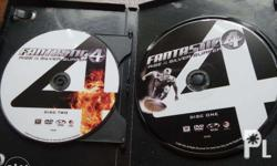 Fantastic 4 2 cds for 100php. Batman movie collection 6