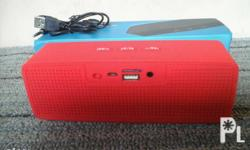 Bluetooth speaker with SD and USB slot Range: 10