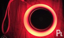 Sonic gear wireless speaker different colored lights