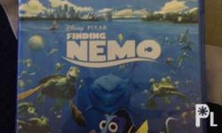 Finding Nemo Bluray 3D for 800 pesos. Used once.