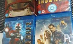 BluRay movies For Sale (set sale only) IronMan 1-3