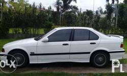 For sale: 99919 Kilometers BMW 1995 3i6 white sedan