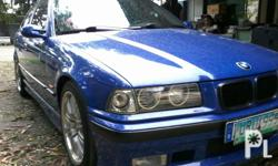 Bmw e36, blue, manual trans,angel eye, leder seat