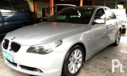 BMW 520d Turbo diesel engine Automatic transmission All