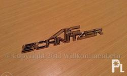 BMW AC Schnitzer Trunk Emblem Badge Brand new 3M