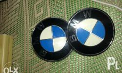 ORIGINAL BMW Emblem front and back emblem