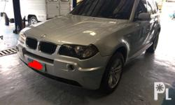 bmw x3 3.0 gast at cebu unit accept trade in and