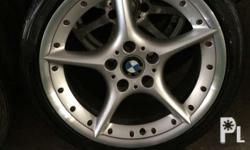 remove from my bmw z4 18inches magwheels broken size