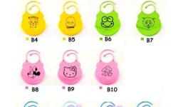Brand NEW High Quality Silicon Baby Bibs at a low