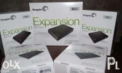 BRANDNEW 1 TB Seagate Externall HDD with 80-100 Games