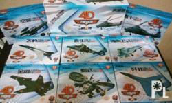 BNEW Aircraft Scale models Set of 8 Scale - see