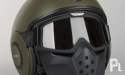Brandnew shark Drak helmet complete with box, helmet