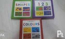 Great set of books to teach your toddlers. Slight