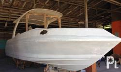 Cabin Cruiser ready to paint with your choice of color