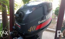 Boat Outboard Engine Yamaha Enduro 40hp For Sale In Manila