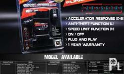 ORDER BASIS ONLY Boost car acceleration with selection