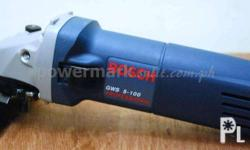 BOSCH GWS 5-100 ANGLE GRINDER (P2,800) Ideal for 100mm