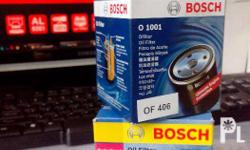 Bosch Oil Filter Minimization of wear and friction Heat