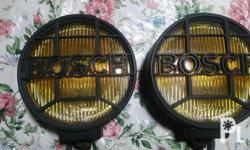 For Sale Bosch Rally Fig Lamps 6.5inch Diameter Made in