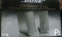Bose Companion 2 (Series II) Speakers As good as new;
