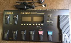 BOSS GT-100 Amp Effects Processor Features: Advanced