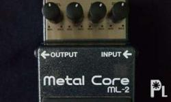 For sale Boss Metal Core Guitar Effects Pedal P3,000